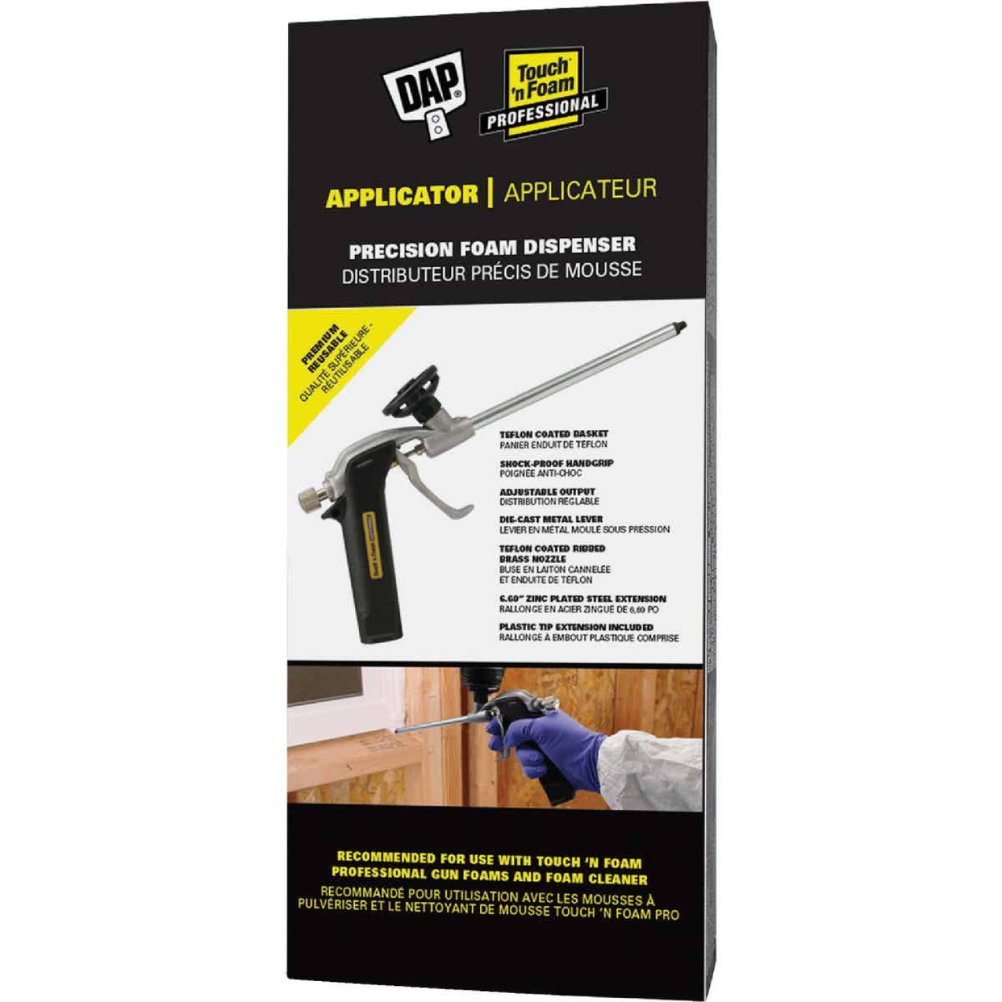 Dap Touch 'n Foam 6.7 In. Applicator Tool Image 1
