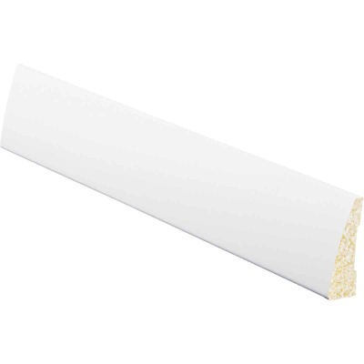 Inteplast Building Products 5/8 In. W. x 2-1/4 In. H. x 7 Ft. L. Crystal White Polystyrene Ranch Casing