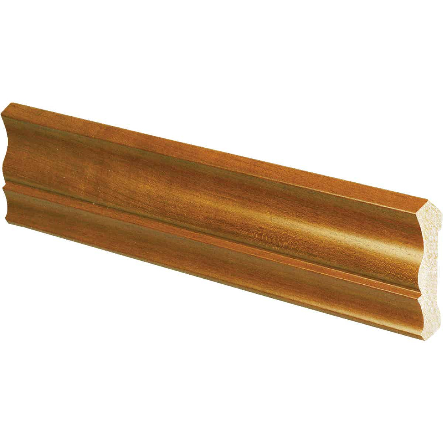 Inteplast Building Products 1/2 In. W. x 3-3/16 In. H. x 8 Ft. L. Independence Cherry Polystyrene Crown Molding Image 1