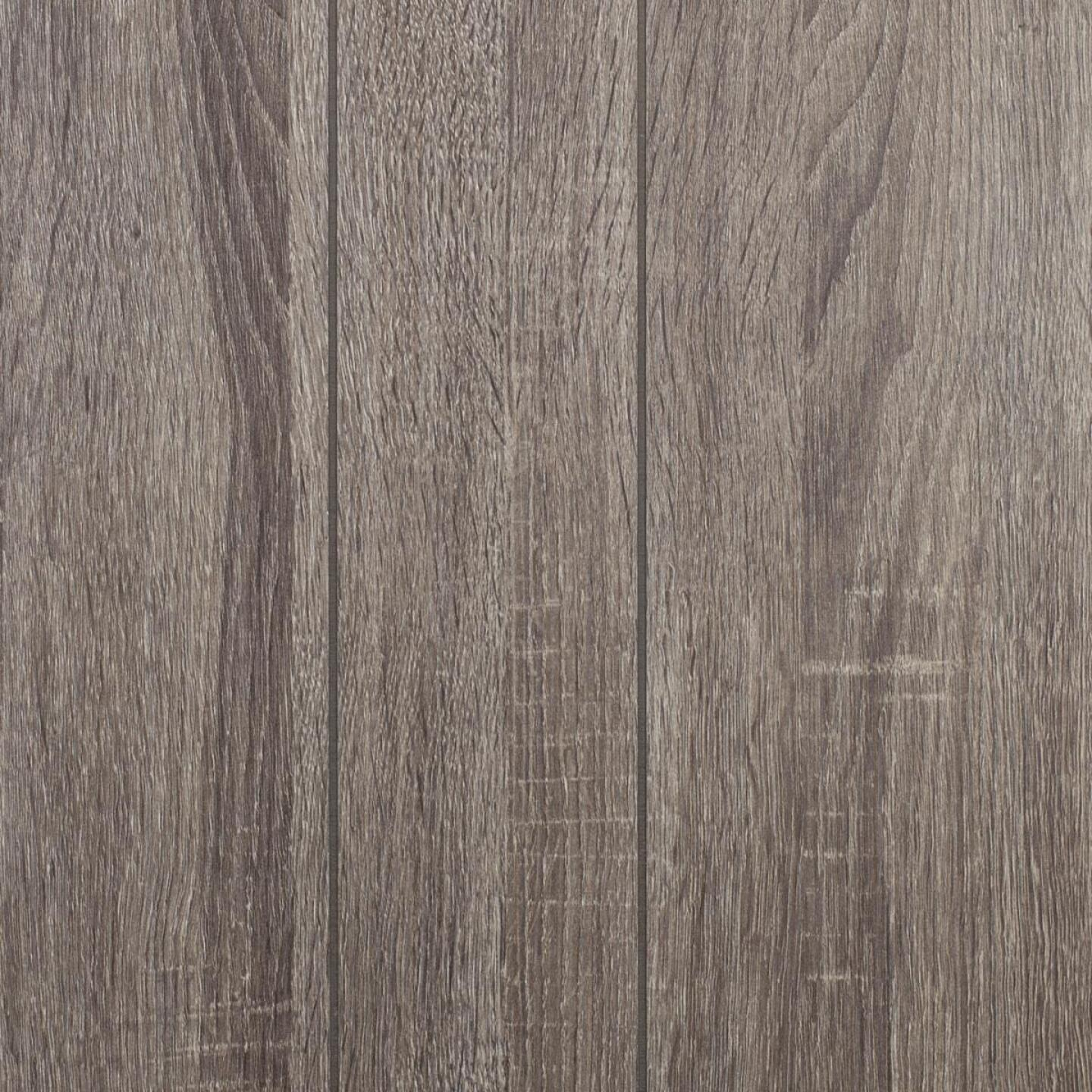 Global Product Sourcing 4 Ft. x 8 Ft. x 1/8 In. Antique Hickory Random Groove Profile Wall Paneling Image 1