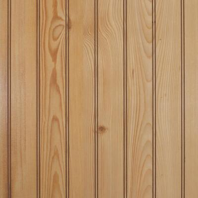 Global Product Sourcing 4 Ft. x 8 Ft. x 1/8 In. Knotty Pine Beaded Profile Wall Paneling