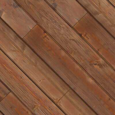 Global Product Sourcing 3-1/2 In. W. x 1/4 In. Thick Solid Wood Brown Reclaimed Wood Wall Plank