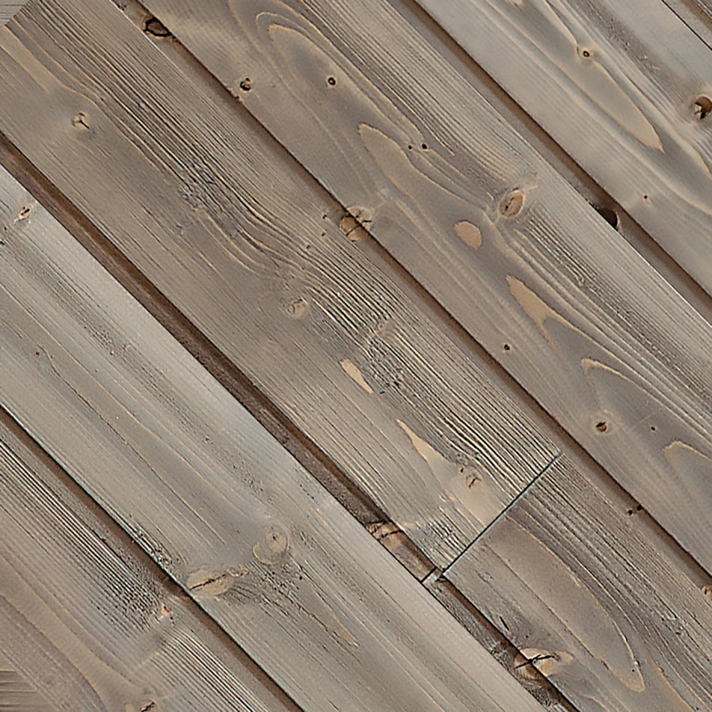 Global Product Sourcing 5.375 In W. x 5/16 In. Thick Gray Reclaimed Wood Shiplap Board Image 1