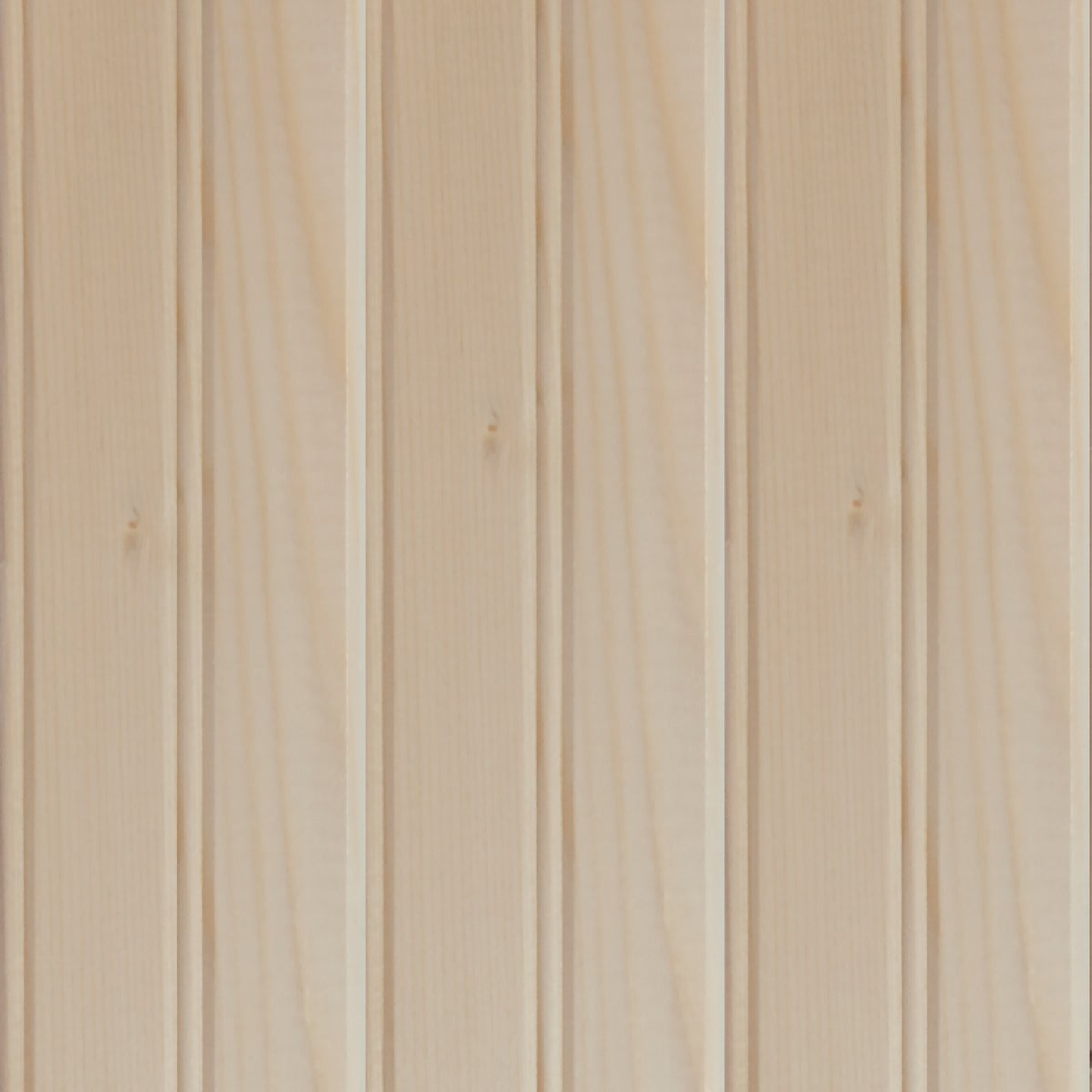Global Product Sourcing 3-1/2 In. W. x 8 Ft. L. x 5/16 In. Thick Knotty Pine Reversible Profile Wall Plank (6-Pack) Image 1