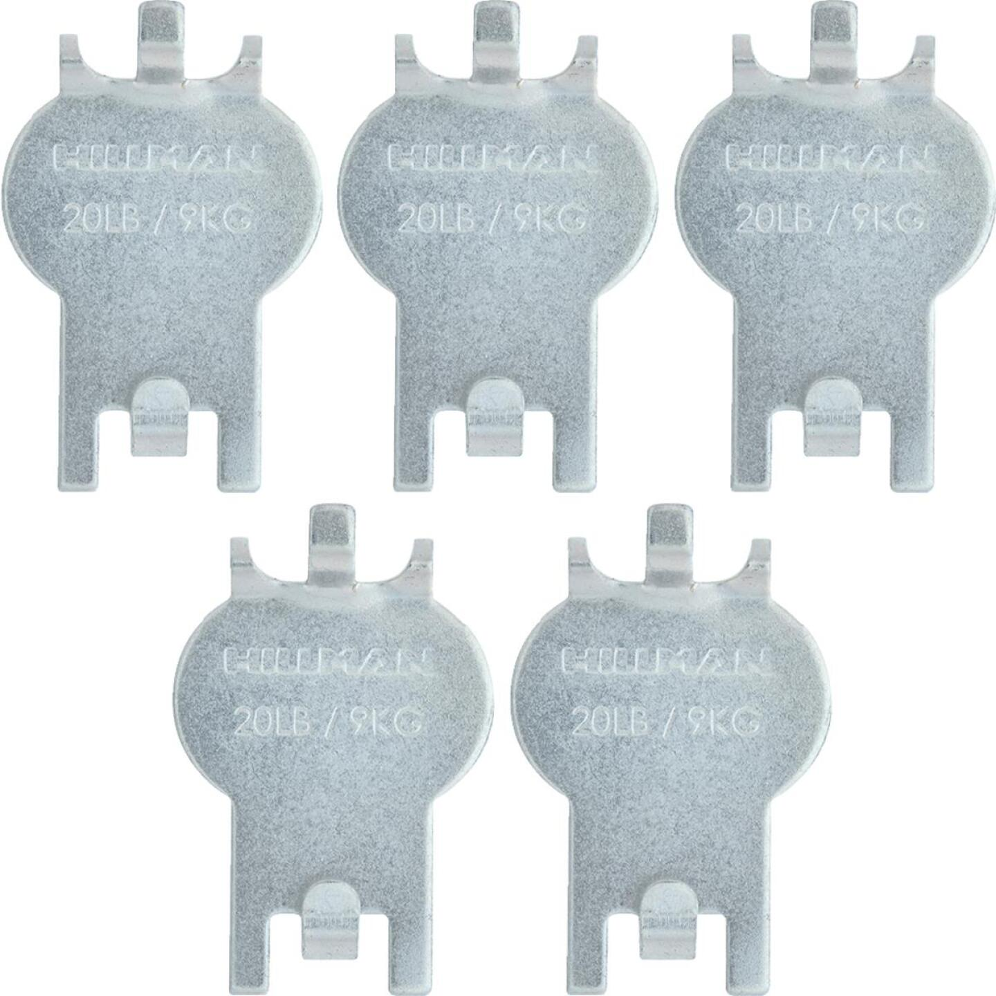 Hillman High and Mighty 20 Lb. Capacity Picture Hanger (5 Piece) Image 1