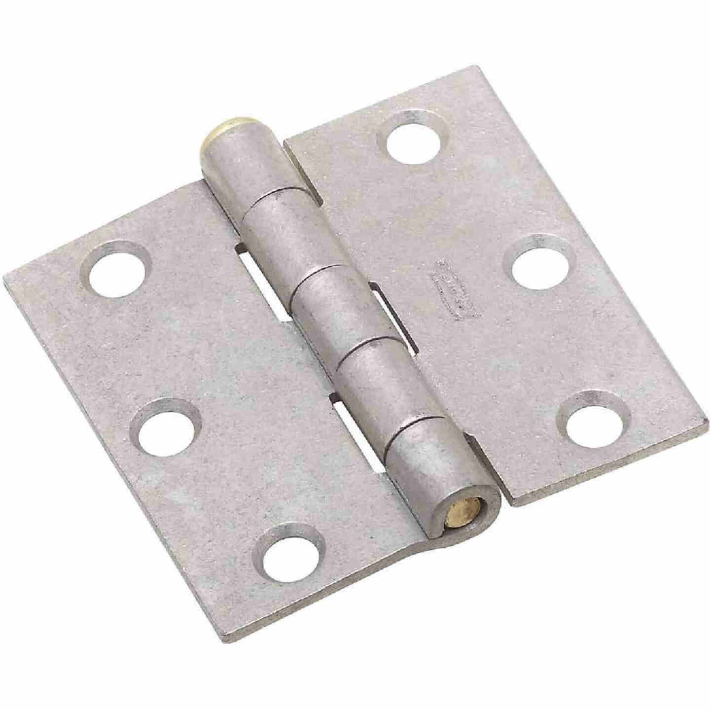 National 2-1/2 In. Galvanized Removable Pin Broad Hinge Image 1