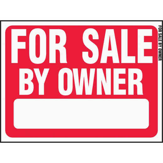 Hy-Ko Plastic Sign, For Sale By Owner