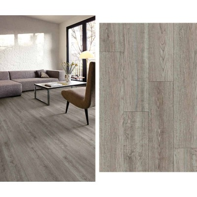 Mohawk Design Elements Rockport Gray 6 In. W x 48 In. L Luxury Vinyl Rigid Core Floor Plank (24.11 Sq. Ft./Case)