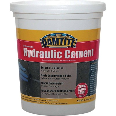 Damtite 3 Lb Tub Hydraulic Cement