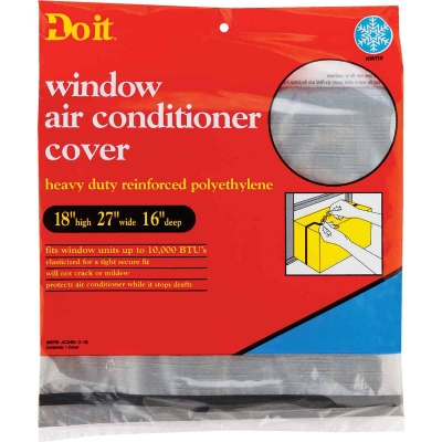 "Do it 18"" x 27"" x 16"" 6 mil Rectangle Air Conditioner Cover"