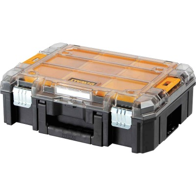 Dewalt TSTAK 13 In. W x 5.75 In. H x 17.25 In. L Small Parts Organizer with 9 Bins
