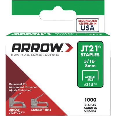 Arrow JT21 Light Duty Staple, 5/16 In. (1000-Pack)