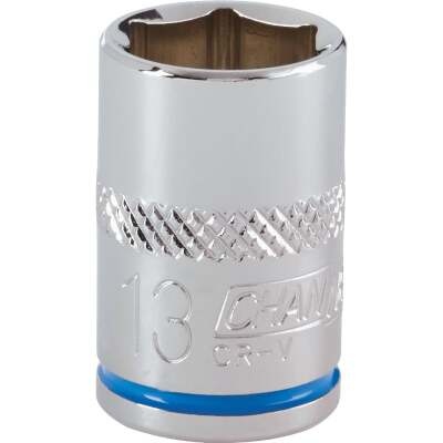 Channellock 3/8 In. Drive 13 mm 6-Point Shallow Metric Socket