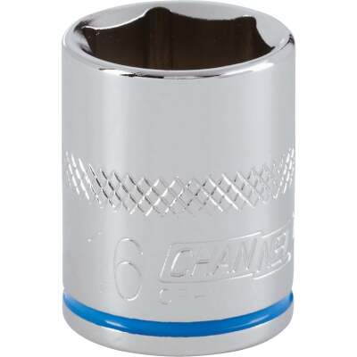 Channellock 3/8 In. Drive 16 mm 6-Point Shallow Metric Socket
