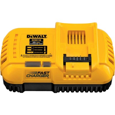 DeWalt 20 Volt MAX and 20 Volt/60 Volt Flexvolt Lithium-Ion Fan-Cooled Fast Battery Charger