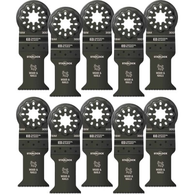 Imperial Blades Starlock 1-3/8 In. 18 TPI Wood/Nail Oscillating Blade (10-Pack)