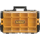 DeWalt ToughSystem 13.125 In. W x 4.50 In. H x 21.75 In. L Small Parts Organizer with 12 Bins Image 1