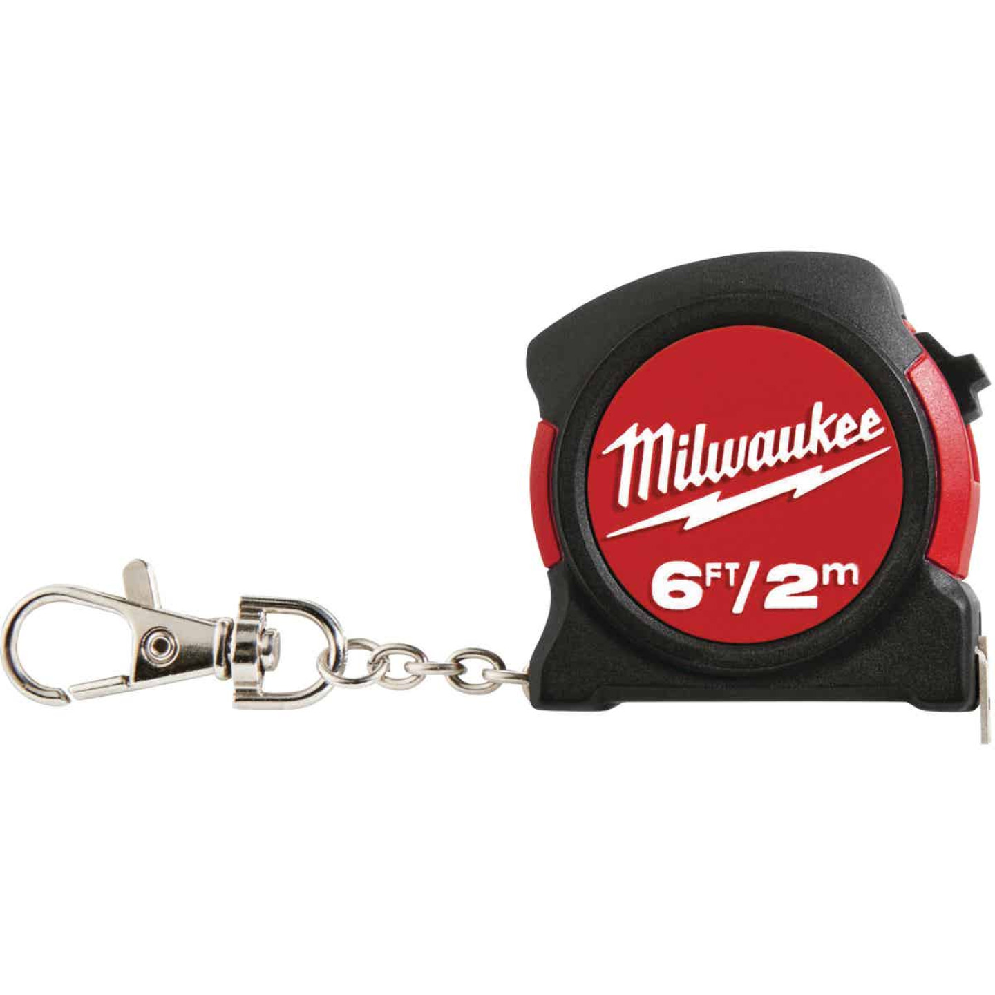 Milwaukee 6 Ft. Key Ring Tape Measure Image 1