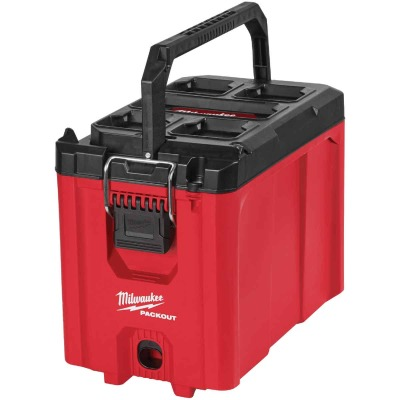Milwaukee PACKOUT 10 In. Compact Tool Box, 75 Lb. Capacity