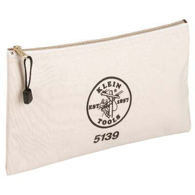 Klein Single-Pocket Zippered Tool Pouch
