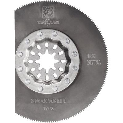 Fein Starlock 3-1/8 In. Stainless Steel HSS Oscillating Blade
