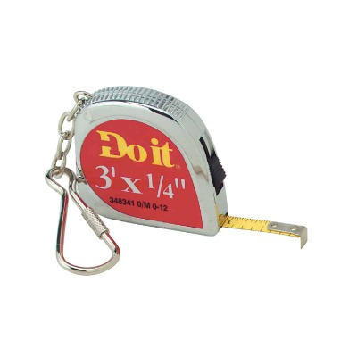 Do it 3 Ft. Key Ring Tape Measure