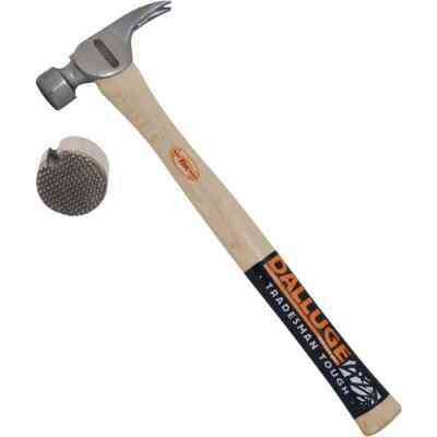 Dalluge 21 Oz. Milled-Face Framing Hammer with Hickory Handle