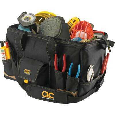 CLC 25-Pocket 18 In. Megamouth Tool Bag