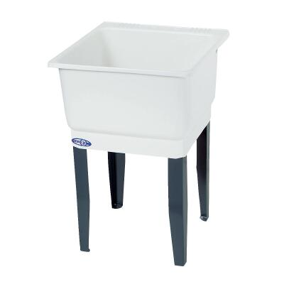 Mustee Utilatub 21 Gallon 23 In. W x 25 In. L CoPolypure Laundry Tub