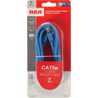 RCA 7 Ft. CAT-5 Blue Network Cable Image 2