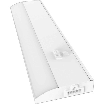Good Earth Lighting 18 In. Direct Wire White LED Color Temperature Changing Under Cabinet Light