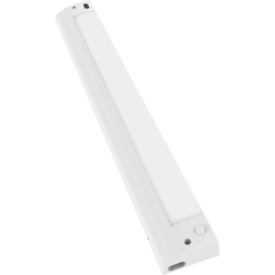 Good Earth Lighting 12 In. Plug-In White LED Color Temperature Changing Under Cabinet Light