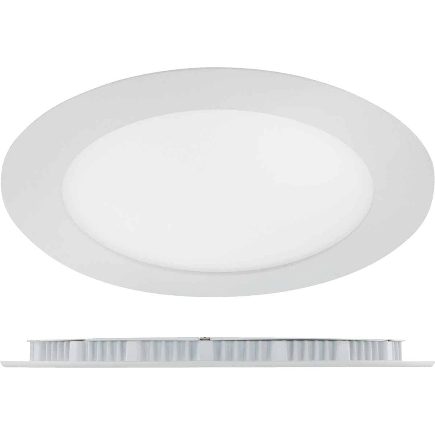 Liteline Trenz ThinLED 6 In. New Construction/Remodel IC Rated White 840 Lm. 4000K Recessed Light Kit Image 1