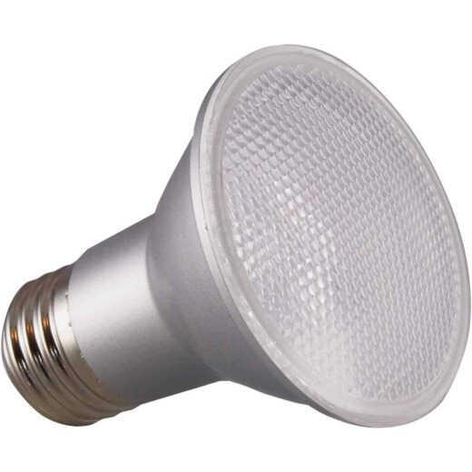 Satco 50W Equivalent Daylight PAR20 Medium Dimmable LED Floodlight Light Bulb