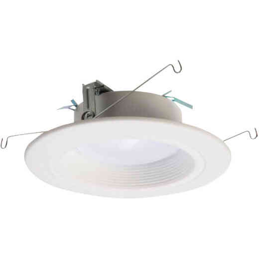 Halo 5 In./6 In. Retrofit Baffle Selectable Color Temperature LED Recessed Light Kit, 712 Lm.