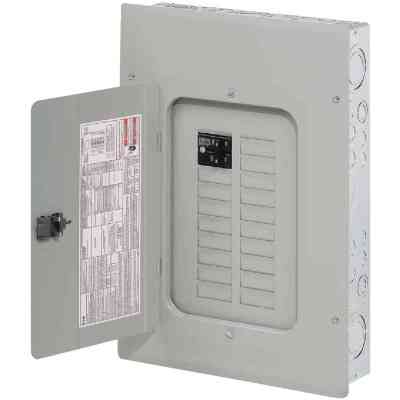 Eaton BR 100A 16-Space 32-Circuit Indoor Plug-On Neutral Load Center