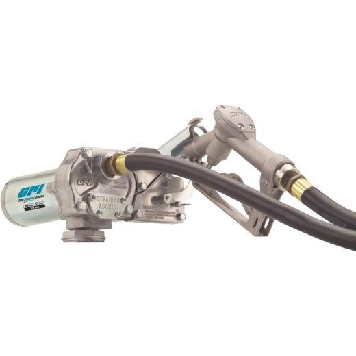 GPI 12V DC, 15 GPM Manual Economy Fuel Transfer Pump