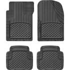 WeatherTech Trim-to-Fit Black Rubber Floor Mat (4-Piece) Image 1