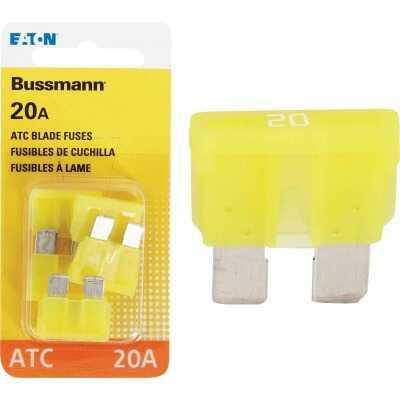 Bussmann 20-Amp 32-Volt ATC Blade Automotive Fuse (4-Pack)