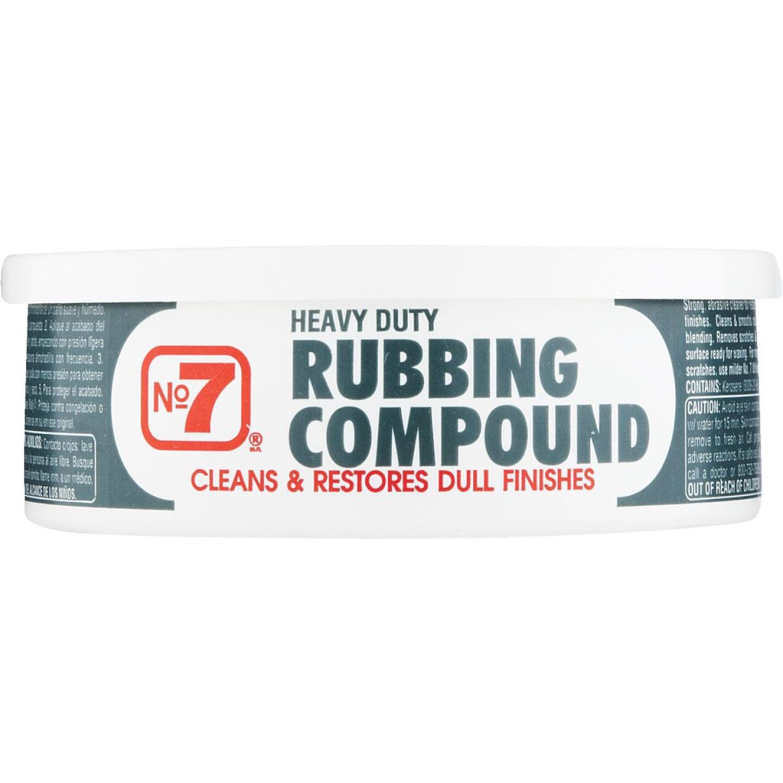 NO. 7, 10 oz Paste  Rubbing Compound Image 2