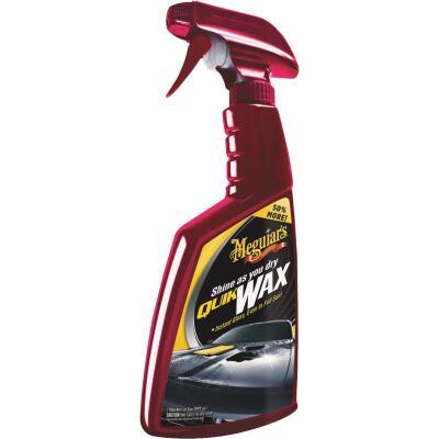 Meguiars Quik Wax 24 Oz. Trigger Spray Spray Car Wax