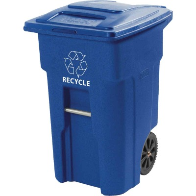 Toter 32 Gal. Recycling Trash Can with Lid