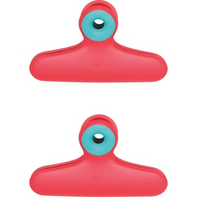 OXO Good Grips 5.5 In. L. Plastic Wide Mouth Bag Clip (2-Pack)
