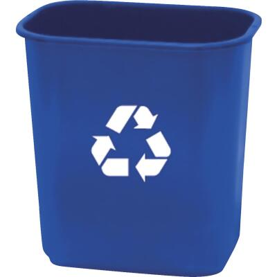 United Solutions 28 Qt. Recycling Office Wastebasket