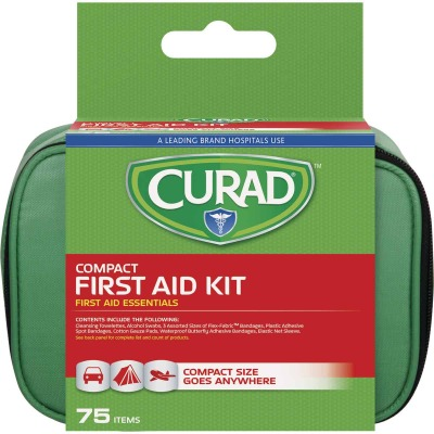 Curad Compact First Aid Kit (75-Piece)