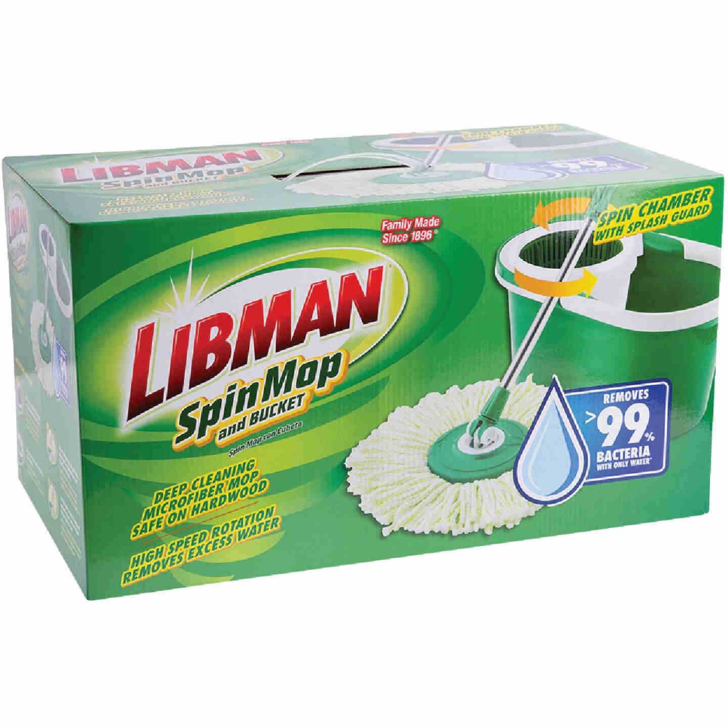 Libman Spin Mop & Bucket Image 2
