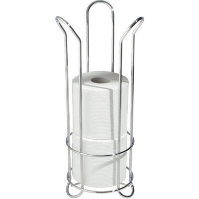 InterDesign Forma Chrome Tulip Freestanding Toilet Paper Holder