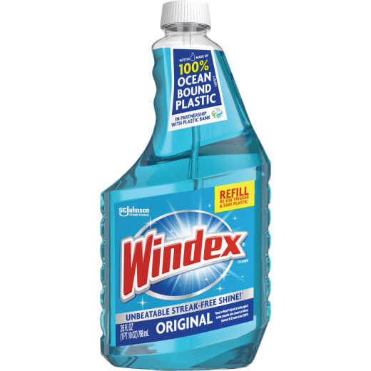 Windex 26 Oz. Original Glass Cleaner Refill