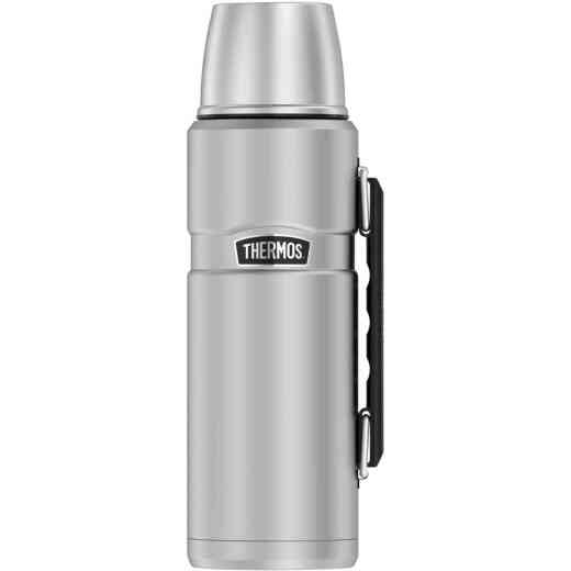 Thermos Stainless King 40 Oz. Stainless Steel Beverage Bottle with Handle