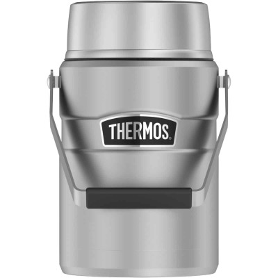 Thermos Stainless King Big Boss 47 Oz. Matte Stainless Steel Thermal Food Jar